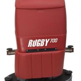 800 RUGBY 后跟式洗地机 双刷洗地吸干车