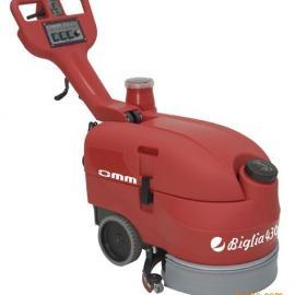 430 Biglia 折叠手推式洗地机 小型洗地吸干机