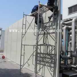 空调室外机组安装隔音墙