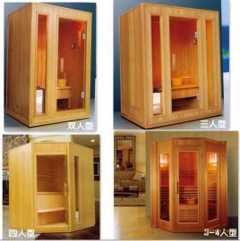 桑拿设备-芬兰松木板可拆装桑拿房配件