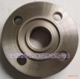 榫面带颈平焊钢制管法兰(凹)