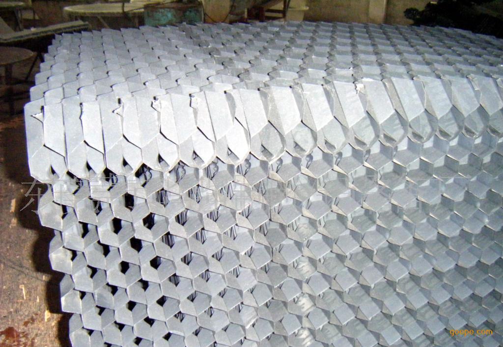 直销玻璃钢冷却塔填料斜