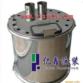 喷粉房自动粉末回收用粉桶 600*600