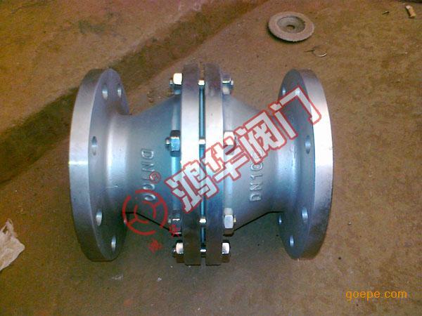 GYW-1不锈钢管道阻火器