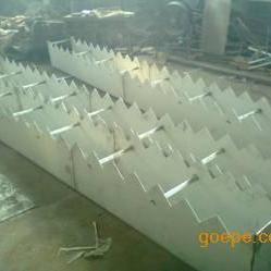 三角堰板不锈钢集水槽