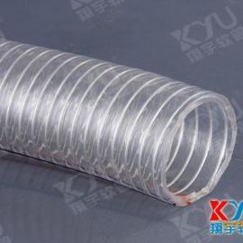 供应PVC螺旋钢丝增强软管