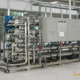 广州玻璃镀膜配套超高纯水反渗透设备