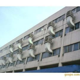 南雄环保空调水帘冷风机厂房降温设备