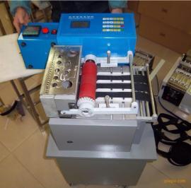新型冷切热切一体机编织带裁切机