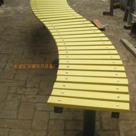 公园座椅 花园座椅 合成木长椅