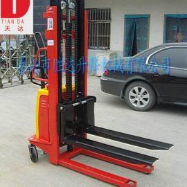 生产江苏 1t半电动堆高车