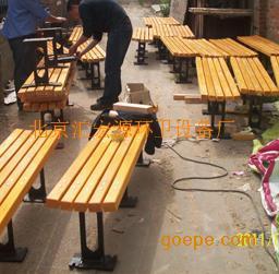 北京防腐木座椅厂家