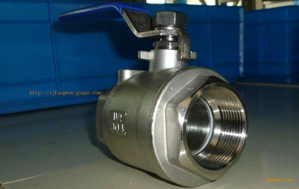 1000psi三片式球阀,);不锈钢/碳钢丝扣高平台球阀(两片式高平台球阀图片