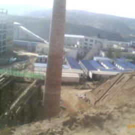 洗煤厂灰库新建,砖烟囱新建,筒仓新建