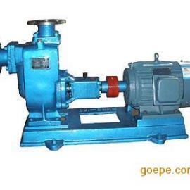 ZW型不�P�自吸排污泵|自吸式�o堵塞排污泵