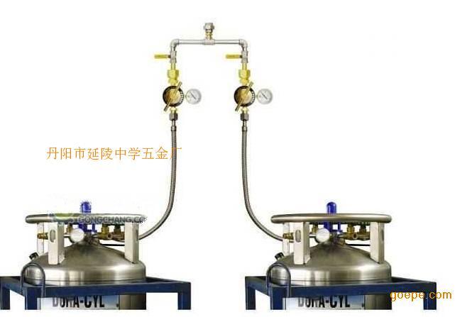 杜瓦罐低温液体汇流排