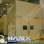流水线隔音房 喷塑生产流水线降噪设备