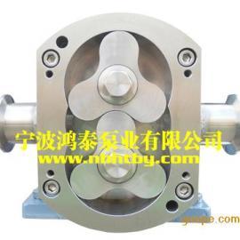 三叶凸轮转子泵