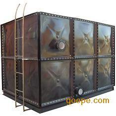 装配式搪瓷钢板油箱