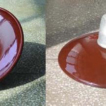 耐污悬式瓷瓶绝缘子(草帽型)