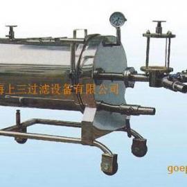 优质不锈钢卧式硅藻土过滤机|�i上过滤公司