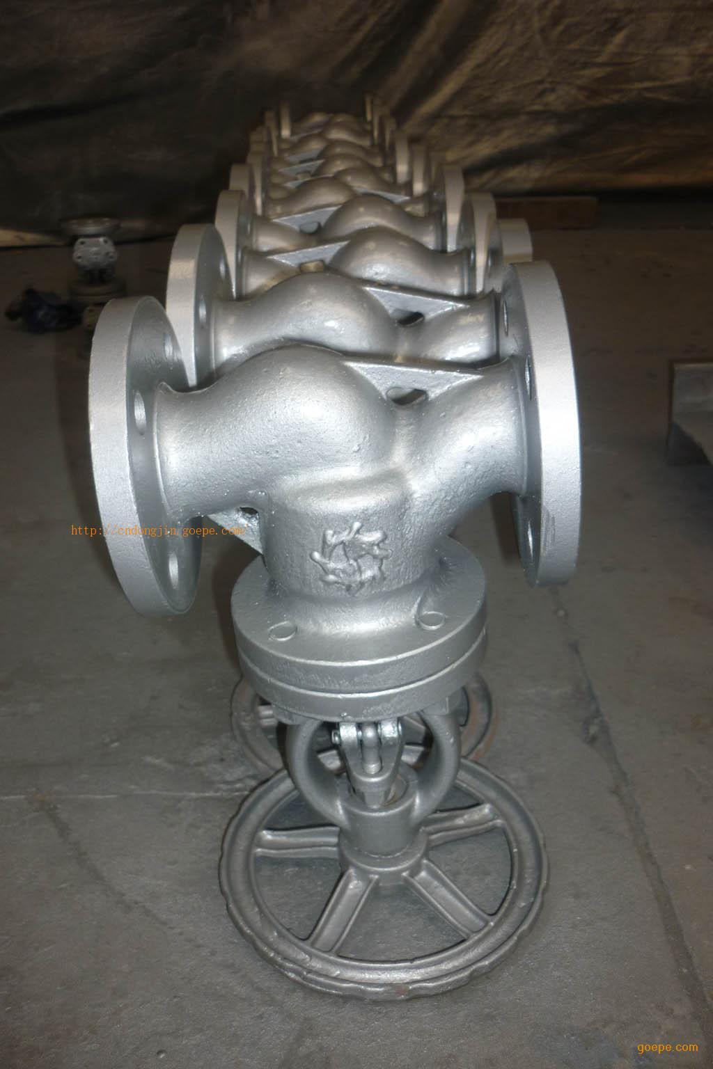 碳钢法兰截止阀 铸钢法兰截止阀 图片