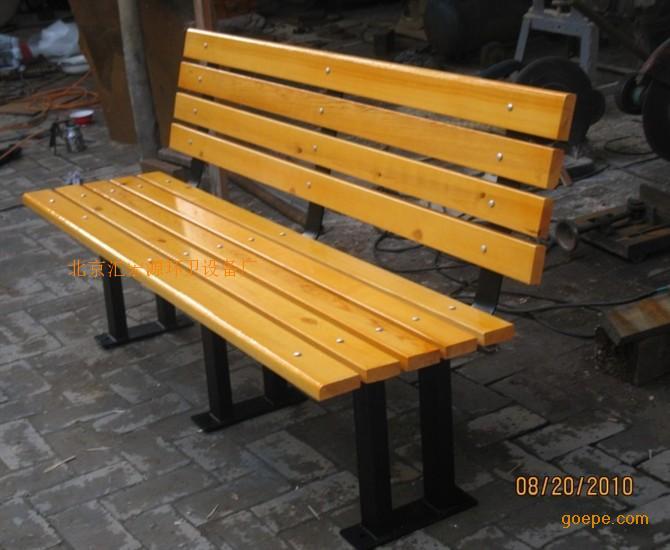 靠背座椅 公园座椅 小区座椅 户外座椅-休闲座椅-木制
