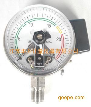 电接点压力表YXC-60ZT