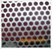 浙江铝板冲孔网,铁板圆孔网用于机械设备