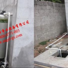 广西洗车循环水过滤设备 游泳池净化设备