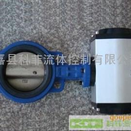 现货供应D671X气动软密封蝶阀、气动控制阀