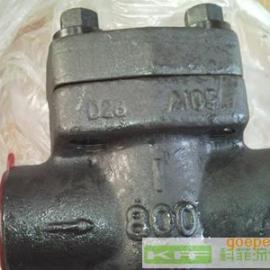 API602美标锻钢单向阀/止回阀/逆止阀