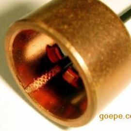 单股铜线与铜环连接