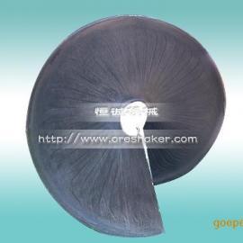 刻槽螺旋溜槽-平面螺旋溜槽-玻璃钢螺旋溜槽
