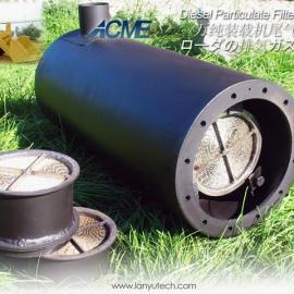 环保柴油扒渣机|扒煤机用尾气净化器