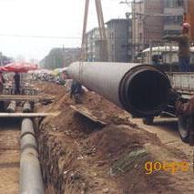 聚氨酯直埋蒸汽水暖保温管,聚氨酯蒸汽保温管厂家