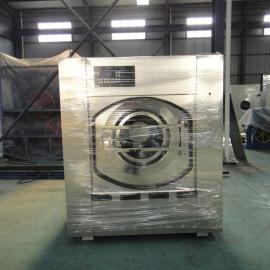 100公斤全自动水洗机,全自动烘干机烫平机