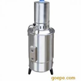 YA.ZD-20不锈钢电热蒸馏水器/申安电热蒸馏水器