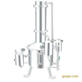 SHZ32-400塔式蒸汽重蒸馏水器/400升蒸汽重蒸馏水器