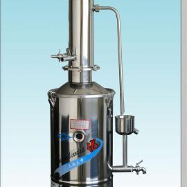 不锈钢电热重蒸馏水器DZ20/20升重蒸馏水器