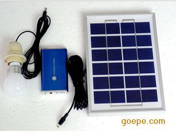 太阳能小型发电系统,太阳能应急照明系统
