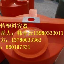 提供优质的3立方药桶,3吨液体搅拌桶,PE储药箱