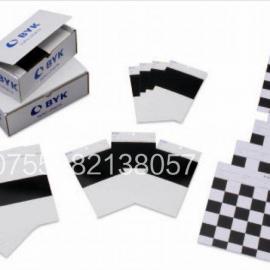 BYK测试卡纸黑白纯白渗透和遮盖力