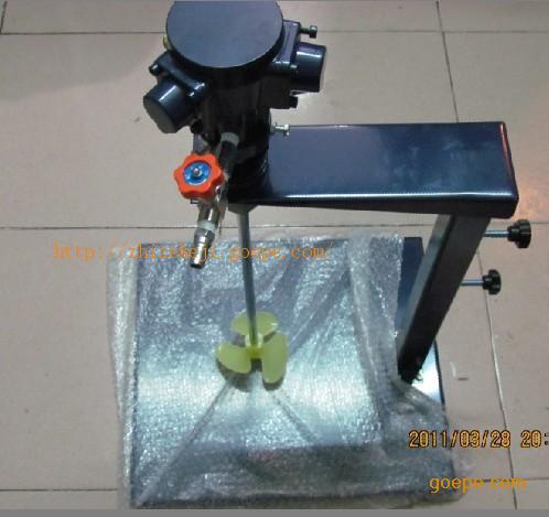 气动搅拌器价格 气动马达图片 气动搅拌器天津图片 高清大图 谷瀑环保