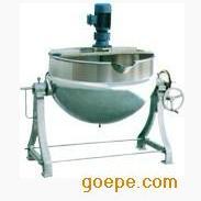电加热可倾式带搅拌夹层锅