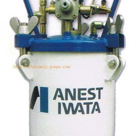 台湾宝丽自动喷漆压力桶  喷漆自动搅拌压力桶