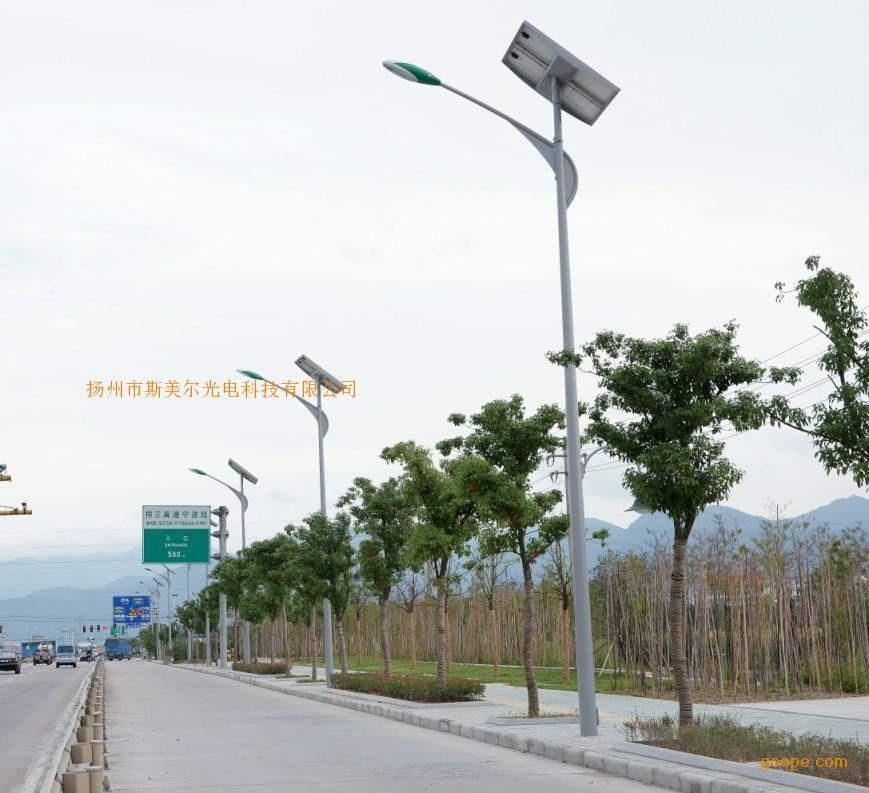 LED太阳能路灯 火距