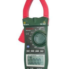 MS2026华仪自动量程交流电流数字钳型表MS-2026