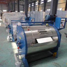 300公斤工业洗衣机价格,水洗厂用烘干机,烫平机