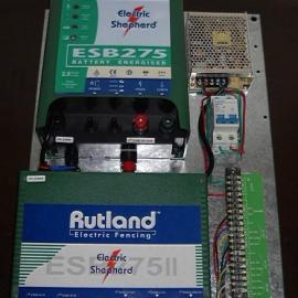 英国罗特兰电子围栏双防区6线脉冲主机ESB275II
